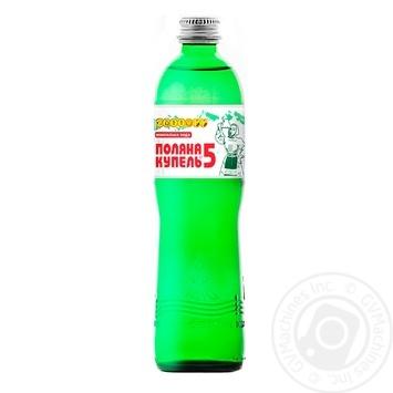 Вода Алекс Поляна Купель-5 минеральная лечебная 0.5л - купить, цены на Фуршет - фото 1
