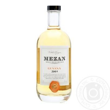 Ром Mezan Gayana 2005 40% 0.7л