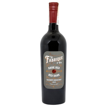 LGI Wines La Fabrique Alicante Red Dry Wine 14% 0,75l