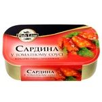 Сардина Fish Line в томатном соусе 125г