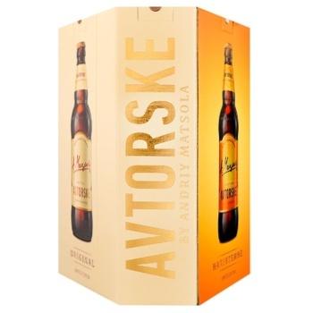 Набор пива Первая частная пивоварня Авторское 3х0,5л