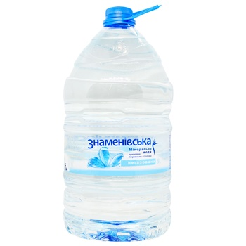 Znamenivska Mineral Water Natural Medical-table Non-carbonated 5l - buy, prices for CityMarket - photo 2