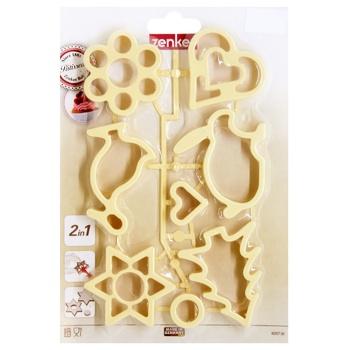 Набір форм Fackelmann для вирізання печива 8шт