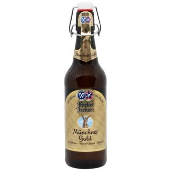 Пиво Hacker Pschorr Munchner Gold 5.5% 0.5л