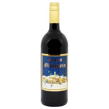 Вино Zenzen Глинтвейн красное полусладкое 8,5% 1л