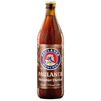 Пиво Paulaner Hefe Weissbier Dunkel темное 5,3% 0,5л