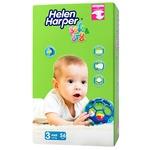 Подгузники Helen Harper Soft&Dry 3 midi 4-9кг 56шт