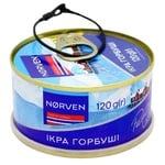 Ікра лососева Norven горбуші 120г