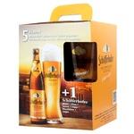 Набор пива Schofferhofer 5% 5х0,5л + бокал