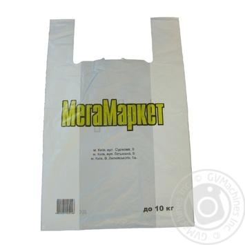 Пакет Мега Маркет 39*60 до 10кг - купить, цены на МегаМаркет - фото 1