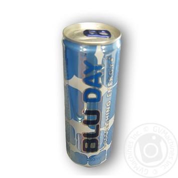 Напій енергетичний Blu Day Energy безалкогольний 250мл - купити, ціни на МегаМаркет - фото 1