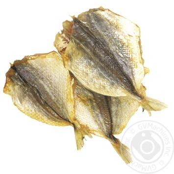 Полосатик желтый Шельф Самый смак солено-сушеный