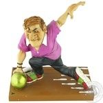 World of Stratford Statuette Bowling player