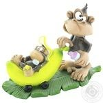 World of Stratford Statuette Monkey Musi-pusi