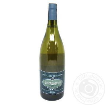 Castellari Bergaglio Gavi di Gavi Rovereto Wine white dry 13% 0,75l - buy, prices for MegaMarket - image 1