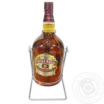 Chivas Regal 12YO Blended Scotch Wisky 4,5l gift box - buy, prices for Novus - image 1