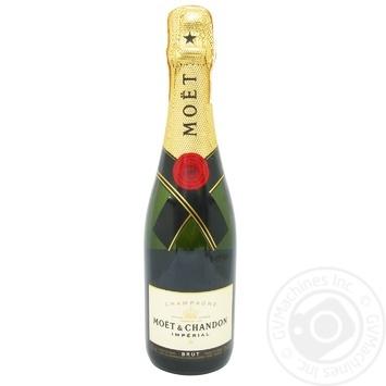 Шампанское Moet & Chandon Imperial Brut белое сухое 12% 0.375л - купить, цены на Novus - фото 1