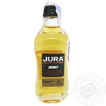 Віскі Isle of Jura Journey 40% 50мл - купити, ціни на CітіМаркет - фото 1