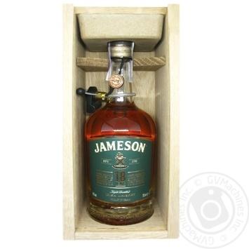 Віскі Jameson 18 років 40% 0,7л в подарунковiй упаковцi - купити, ціни на Novus - фото 2