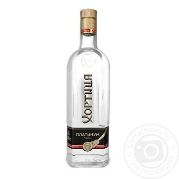 Khortytsya Platinum Vodkа 40% 0,7l - buy, prices for Auchan - photo 2