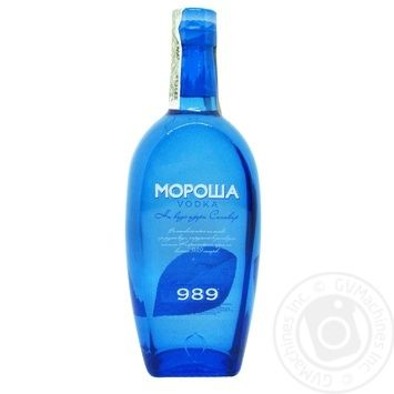 Водка Мороша на воде озера Синевир особая 40% 0,5л - купить, цены на Novus - фото 1