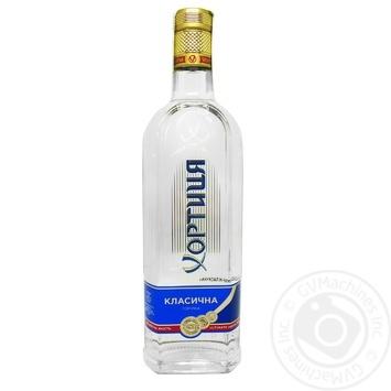 Водка Хортица Классическая 40% 0,7л - купить, цены на Novus - фото 1
