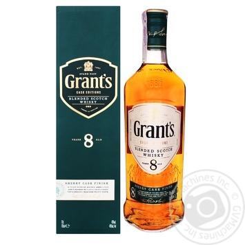 Виски Grant's 8 лет 40% 0,7л - купить, цены на Novus - фото 5