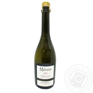 Вино напівігристе Chiarli Voltadegli Angeli Malvasia біле напівсолодке 8% 0,75л - купити, ціни на CітіМаркет - фото 1