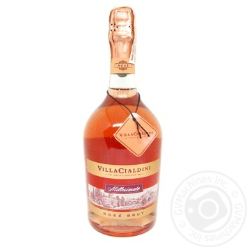 Вино ігристе Villa Cialdini Spurmante Rose Brut 12% 0,75л - купить, цены на МегаМаркет - фото 1