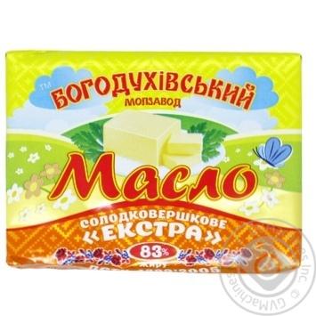 Масло сладкосливочное Богодуховский молокозавод экстра 83% 180г