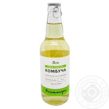 Напій безалкогольний Комбуча Лаймонадна 0,33л - купити, ціни на МегаМаркет - фото 1