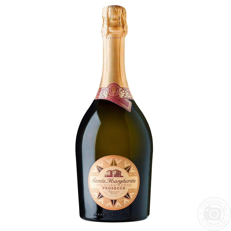 Купить 499676, Вино игристое Santa Margherita Brut Prosecco Superiore di Valdobiadene DOCG белое сухое 11, 5% 0, 75л