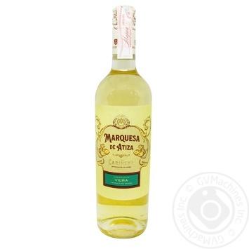 Вино Marquesa de Atiza Blanco Joven Rosca белое сухое 13% 0,75л