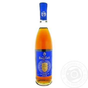 Bagrati Cognac 3* 40% 0.5l - buy, prices for UltraMarket - photo 1