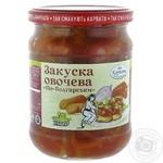 Закуска овощная Карпати Насолоджуйся По-болгарски 480г - купить, цены на Novus - фото 1