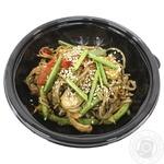 Соба The Local Food з качкою та овочами в соусі теріякі 350г