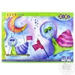 Альбом для малювання ZiBi Kids Line А4 12арк. в асортименті