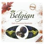 The Belgian Dark Chocolate Seashells Candies 250g