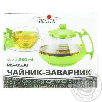 Чайник 0538/850мл - купити, ціни на МегаМаркет - фото 1