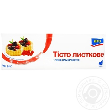 Тесто листовое Aro 1кг - купить, цены на Метро - фото 1