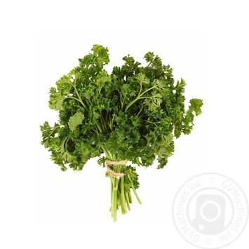 Greens parsley curled Without brand fresh 250g