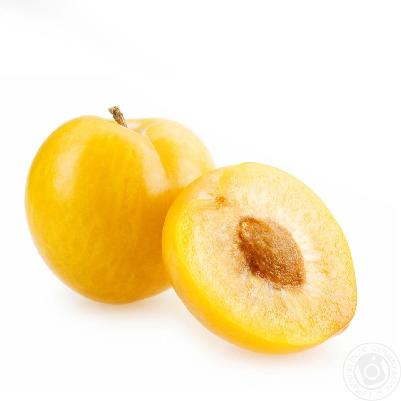 желтая слива фото