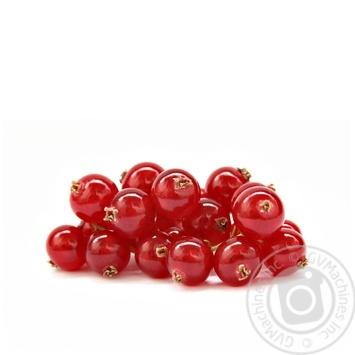 ягода красная смородина красное свежая 125г