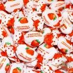Caramels Roshen Strawberry and cream strawberries with cream Ukraine