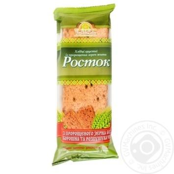 Хлебцы УкрЭкоХлеб Росток с пророщенных зерен ржи 120г - купить, цены на МегаМаркет - фото 1