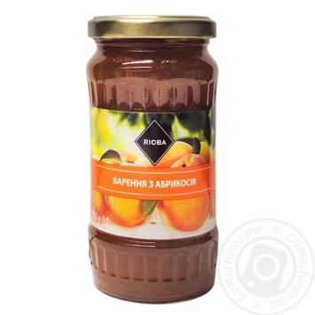 Варенье Rioba из абрикосов 465г