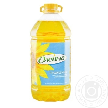 Масло подсолнечное Олейна Традиційна рафинированное 5л - купить, цены на Метро - фото 1