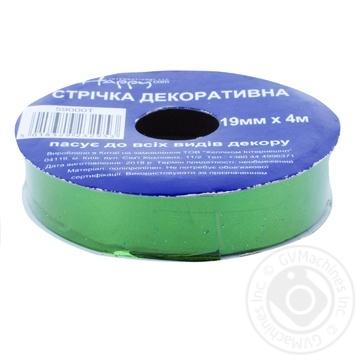 Happycom Decorative Ribbon Metalic 19mm*4m assortment - buy, prices for Auchan - photo 5