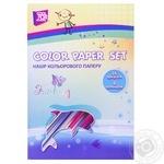 Набор цветной бумаги Cool for school 14 листов