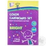 Cool for School А4 Colored Cardboard Set 10 sheets